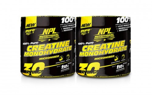 Nutritional Performance Labs Creatine Monohydrate - 150g + 150g