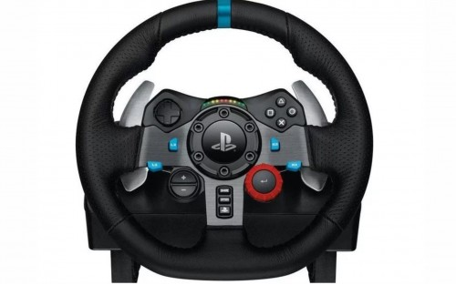 Logitech - G29 Driving Force Racing Wheel For PS3/PS4 (PS4)
