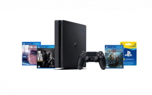 PlayStation 4 500GB Hits Console Bundle (PS4)