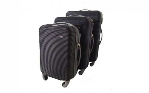 3 Piece Hard Outer Shell Luggage Set